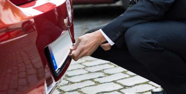 Cómo hacer el cambio de placas de un vehículo