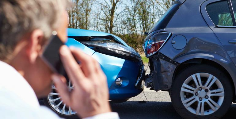 Cómo actuar ante un accidente de tránsito