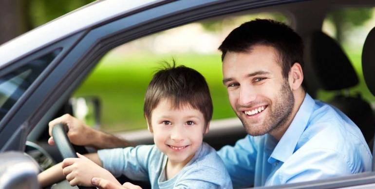 Cómo ser un padre responsable y a la vez un gran conductor