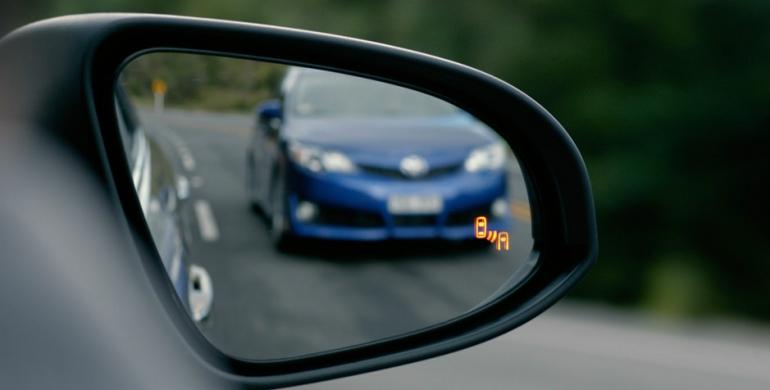 Puntos ciegos de un carro