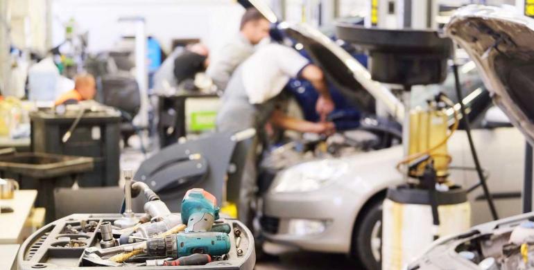 Las reparaciones más costosas para un vehículo