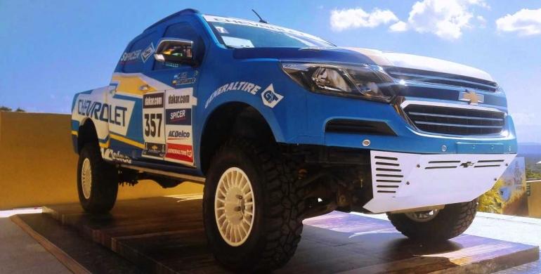 Chevrolet participa en el Rally Dakar 2018