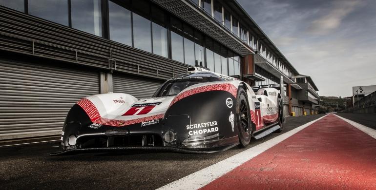 El record del Porsche 919 Hybrid en F1