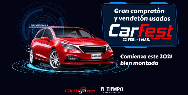 CarFest 2021: el gran 'compratón' y 'vendetón' de carros usados