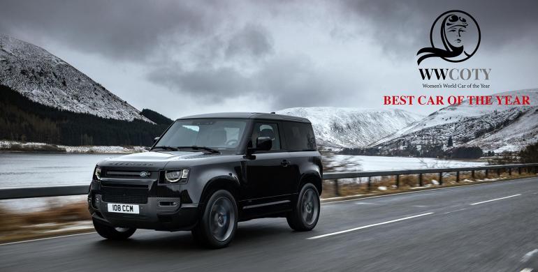 Land Rover Defender elegido como el carro del año por las mujeres