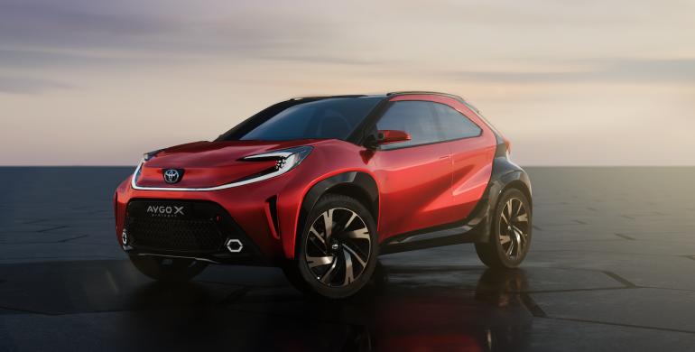 Nuevo Toyota Aygo X Prologue, un urbano más atractivo y futurista