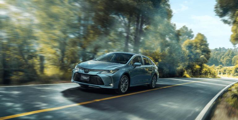 Toyota, la marca que más vende carros híbridos en Colombia