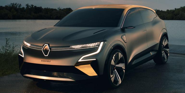 Así luciría el revolucionario Renault Mégane Eléctrico