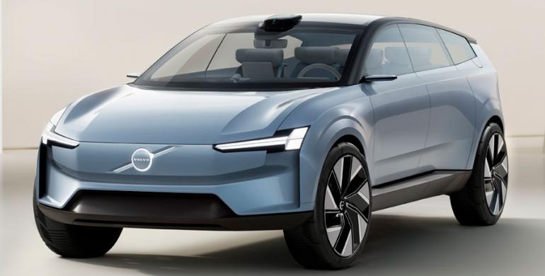 Volvo Concept Recharge: Un adelanto del futuro eléctrico de la marca sueca