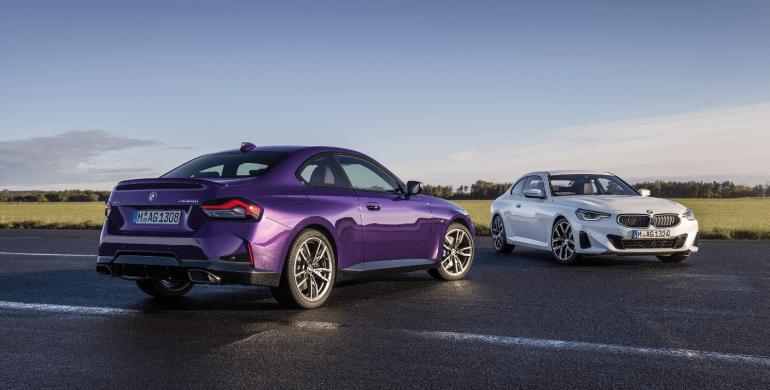 Fue revelado oficialmente el nuevo BMW Serie 2 Coupé 2022