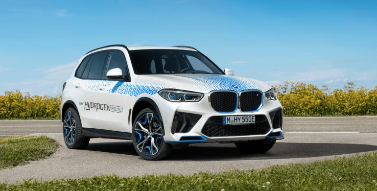 nuevo BMW iX5 Hydrogen