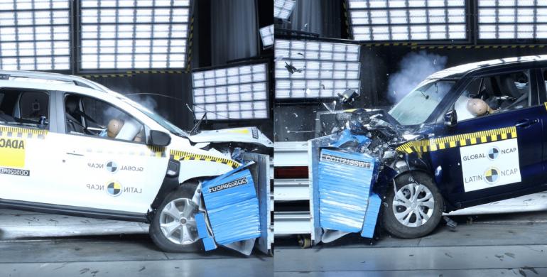 Latin NCAP calificó con cero estrellas a la nueva Renault Duster y al Suzuki Swift