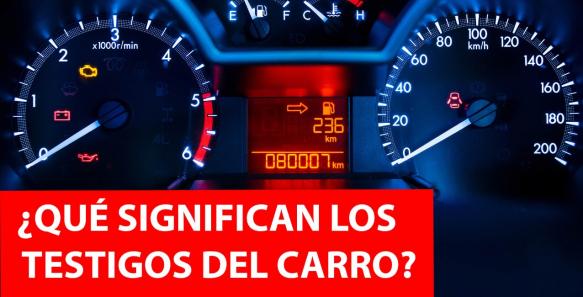 ¿Qué significan los testigos del carro?