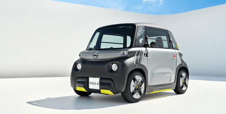 Opel Rocks-e: el nuevo vehículo eléctrico de la marca alemana