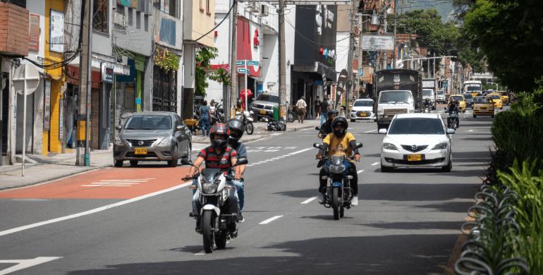 ¡Atención! Comenzó el Pico y Placa para motos en Medellín
