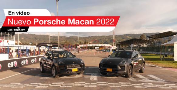 El autódromo de Tocancipá fue testigo de la presentación oficial del nuevo Porsche Macan 2022.