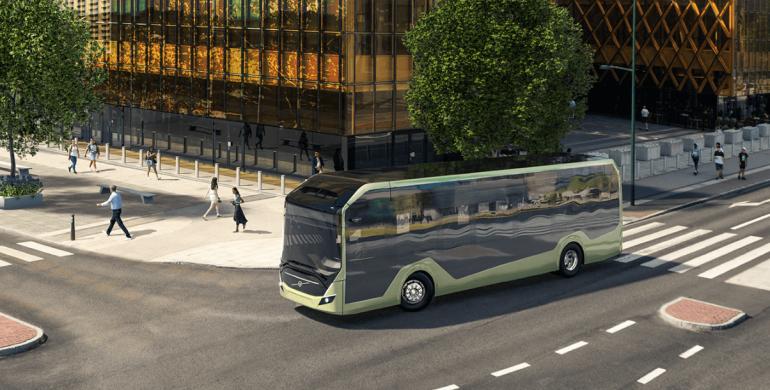 Colombia fue elegida por Volvo para probar su nuevo chasis de bus eléctrico
