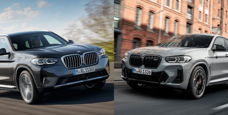 Los renovados BMW X3 y X4 ya están en Colombia