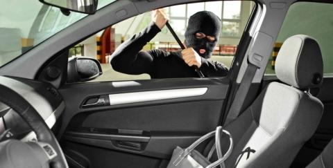 Partes de un carro vulnerables a robo