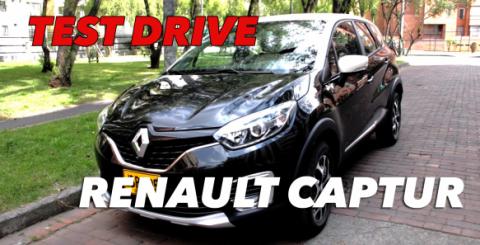 Test Drive nueva Renault Captur