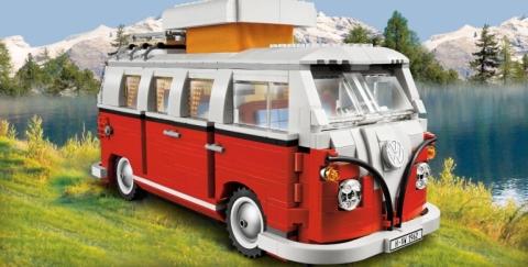La atractiva colección de vehículos creada con piezas de lego