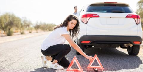 Cómo evitar varadas y accidentes en un viaje por carretera