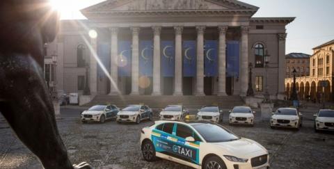 Jaguar lanzará la primera flota de taxis eléctricos