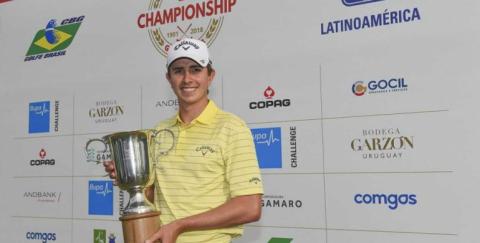 Golfista Nicolás Echavarría: nuevo embajador de la marca Jeep