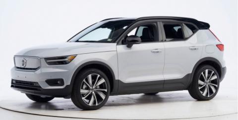 Volvo obtuvo la máxima distinción de seguridad en todos sus vehículos